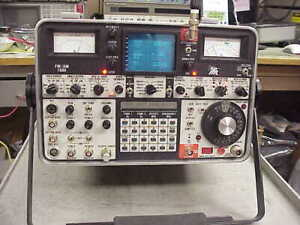 IFR AM/FM 1500 RADIO SERVICE MONITOR- WITH TRACKING GENERATOR-JUST BACK FROM CAL