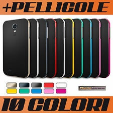 COVER CUSTODIA per GALAXY S4 i9500 SAMSUNG + PELLICOLA CASE MORBIDA SLIM TPU