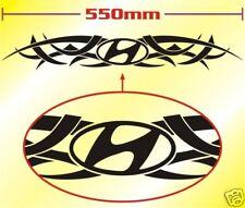 Hyundai Tribal Tattoo Decal Sticker Coupe Getz Santa Fe