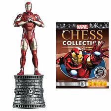 Marvel Chess Figurine Collection Magazine #2 - Iron Man / White Bishop #MCC2