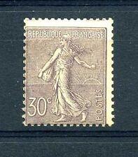 "FRANCE N°133 ""SEMEUSE 30c LILAS"" NEUF xxTB, VALEUR:550€"