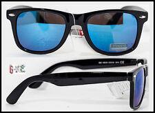 Occhiali Da Sole Uomo Donna Nerd Cool SURF KITESURF GEEK Lenti Specchio Neri