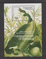 Dominica - 1986, J Audubon, Birds, Canada Goose sheet - MNH - SG MS1017