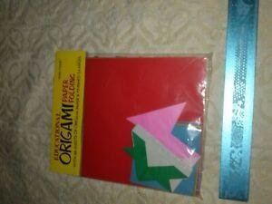 Vintage japanese origami paper kit