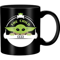 Mandalorian The Child 20 oz Jumbo Ceramic Mug Baby Yoda Star Wars Disney+ Gift