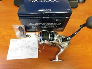 Shimano Saragosa SW10000 Spinning Reel NIB w/manual