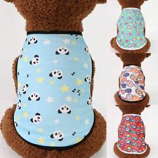 1pc Pet Dog Sleeveless Clothes T-shirt Puppy Cute Vest Summer Comfortable