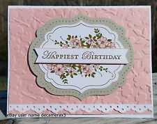 BIRTHDAY CARD KIT, SET OF 4, HANDMADE STAMPIN' UP
