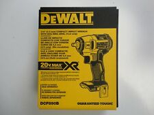 "DEWALT DCF890B 3/8"" 20V 20 Volt Max XR Brushless Impact Wrench Tool New NIP"