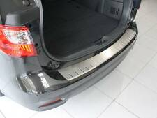 Rear Bumper Protector Double Stainless Steel Scuff Plate fit Mazda 5 2010-2016