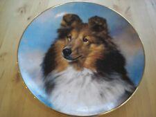 """""""Perfect Pose� Danbury Mint Shetland Sheepdog Plate by Edward Aldrich"""