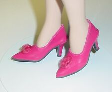 "Doll Shoes, Monique Gold 48mm FUSCHIA  ""My Fair Lady"" for Tyler, Sybarite"