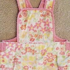 SWEET! BABY GAP 3-6 MONTH PINK FLORAL SHORTALLS
