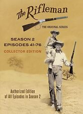 The Rifleman Complete Official Second Season Collection 41-76 Series Show TV DVD