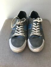 Schuhe Sneaker Mustang grau weiß Größe 44