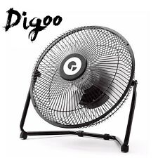Digoo DF-101 10'' METAL 360° Rotatable USB Rechargeable Cooling Desk Fan Laptop