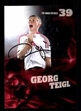 Georg Teigl Autogrammkarte Red Bull Salzburg 2012-13 Original Sign+A 146768