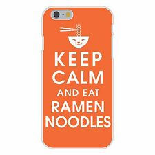 Keep Calm and Eat Ramen Noodles FITS iPhone 6+ Plastic Snap On Case Cover New