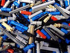 Lego Technic Lot of 100 RANDOM PINS & AXLE PEGS Mindstorms Bionicle Black Blue+