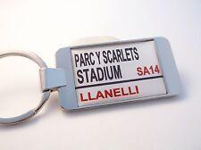 SCARLETS STADIUM BADGE RUE PANNEAU DE SIGNALISATION PORTE-CLÉ CADEAU