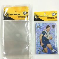 NRL Trading Card OPP Team Bags ) with Club logo Pack (50)-BULLDOGS- Clear& Neat