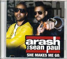 ARASH featuring SEAN PAUL - She makes me go 1TR DUTCH ACETATE PROMO CD 2013