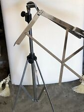 Hamilton Folding and Adjustable Music Stand in 2 pieces - Chrome