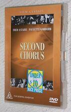 Second Chorus (DVD, 2004), Like new, free shipping
