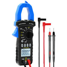 Digital Clamp Meter True Rms Multimeter With Ncv For Dc Ac Volt Amp Diode Tester