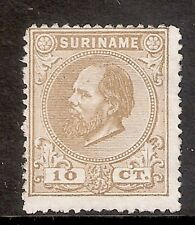 Suriname Nummer  6A   Ongebruikt.