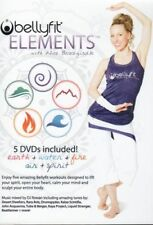 BELLYFIT ELEMENTS 5 DVD SET EARTH WATER FIRE AIR SPIRIT - ALICE BRACEGIRDLE NEW