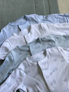 Next Baby Grows . 4 Pieces . O-3 Months . Exc Cond . Baby Up To 14lb