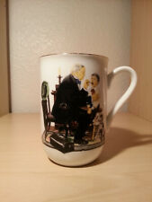 "Norman Rockwell Vintage Mug ""The Country Doctor"""
