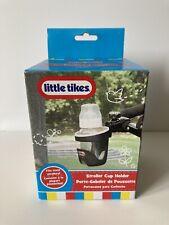 Little Tikes Stroller Cup Holder Black Buggy Pushchair Bottle Beaker Holder