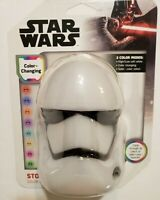Starwars Disney Led Color Changing Night Light! New! Stormtrooper! Select light!