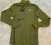 Nike AeroShield Men's Running Jacket Green 928477 395 Size M
