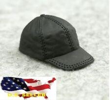 "1/6 Scale Black Cap Hat For 12"" Hot Toys Phicen Kumik Female Male Figure ❶USA❶"