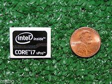 NEW! Intel Inside CORE i7 vPro BLACK Sticker Label Case Badge Logo. USA Seller!