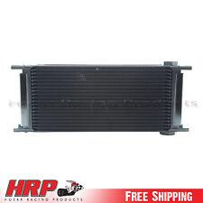 Setrab FP920M22I Series-9 Oil Cooler 20 Row w/ Dual 12 Volt Fans