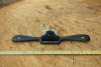 Vintage Stanley SW Era No.64 Spoke Shave,Flat Bottom Cast Iron Tool Made In USA