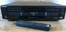 Sony CDP-CE525 5 CD Changer Compact Disc Player with Remote Control