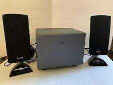 Insignia Speakers Amplified Speaker System Sub Woofer System