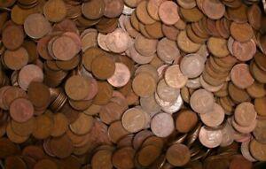 1kg bulk lot Australian Pennys 1911-1964
