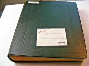 US/WW, MEXICO, CANADA,  Amazing old time Stamp Collection hinged on Scott pages/