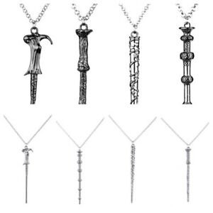 Harry Potter Necklaces Magic Wand  Pendant Chain New Gift Wizard Characters