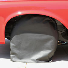 "California Tire Covers 5027V Set of 4 Vinyl Tire Covers: Fit Up To 27"" Diameter"
