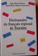Dictionnaire du français régional de Touraine /N12