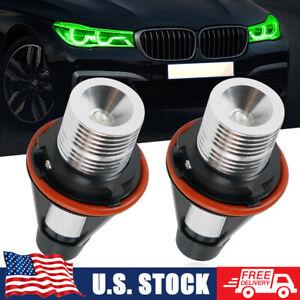 Green LED Angel Eyes Halo Ring Marker Light Bulbs Fit BMW 525i 530i 540i 650i x5