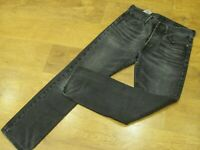 "Levi's 501, W32"", L32"" Straight Leg, Black Denim Jeans, Rise 11"", Hem 16"" gc"