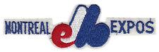 "1977-78 MONTREAL EXPOS MLB BASEBALL 6 1/2"" SPORTSTRIPE TEAM PATCH"